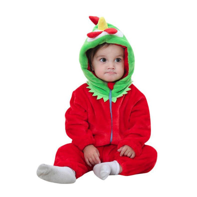 Hooded Rooster Jumpsuit