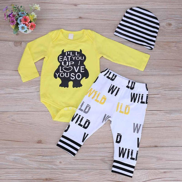 Wild Yellow Set