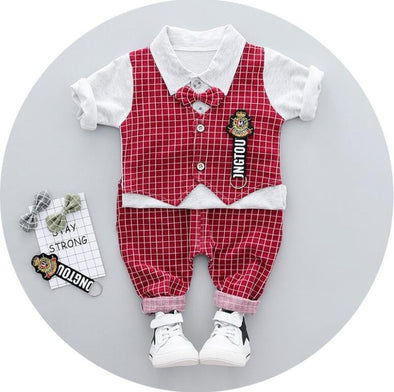2-Piece Vest T-shirt & Pants Set