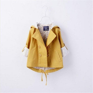 Autumn Hooded Cotton Coat