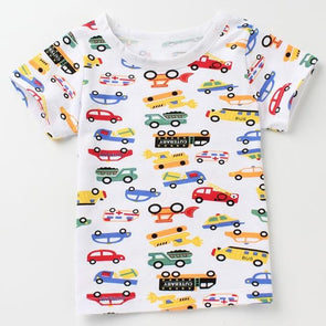 Colorful Cars T-shirt