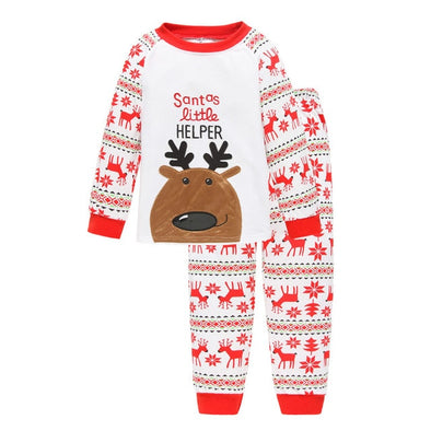 Santa Helper Pajamas Set
