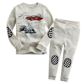 Car Race Pajamas Set