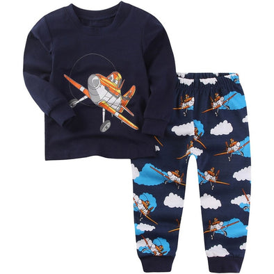 Planes Pajamas Set