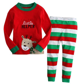 Santa's Little Helper Pajamas Set