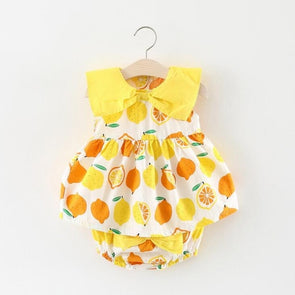 Bowknot Fruits Onesie