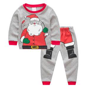 Santa Pajamas Set
