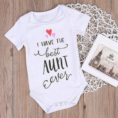 The Best Aunt Onesie