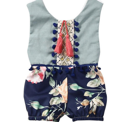Chic Floral Romper