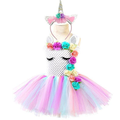 Unicorn Birthday Party Tutu Dress