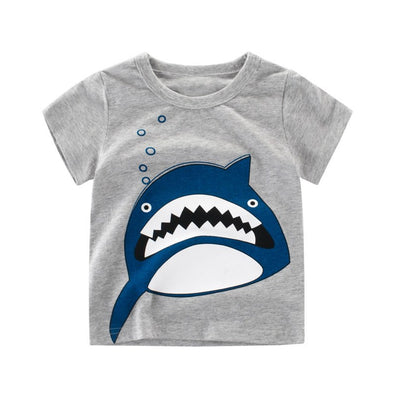 Shark Cotton T-shirt