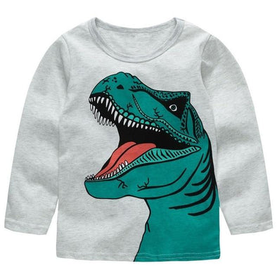 100% Cotton Fille T-shirt Dino