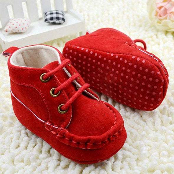 Warm Red Cotton Shoes