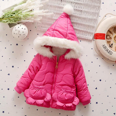 Candy Color Winter Coat