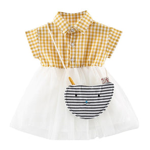 Striped Baby Girls Dress
