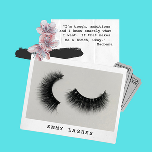 'Emmy' -  3D Mink Lashes (False Eyelashes)
