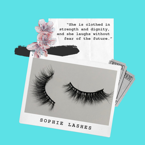 'Sophie' - 3D Mink Lashes (False Eyelashes)