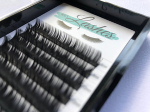 Sale! Mis-labeled Classic Eyelash Extensions (D-Curl, 0.15 Thickness, various lengths)