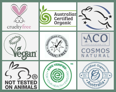 Certification labels to be familiar with.