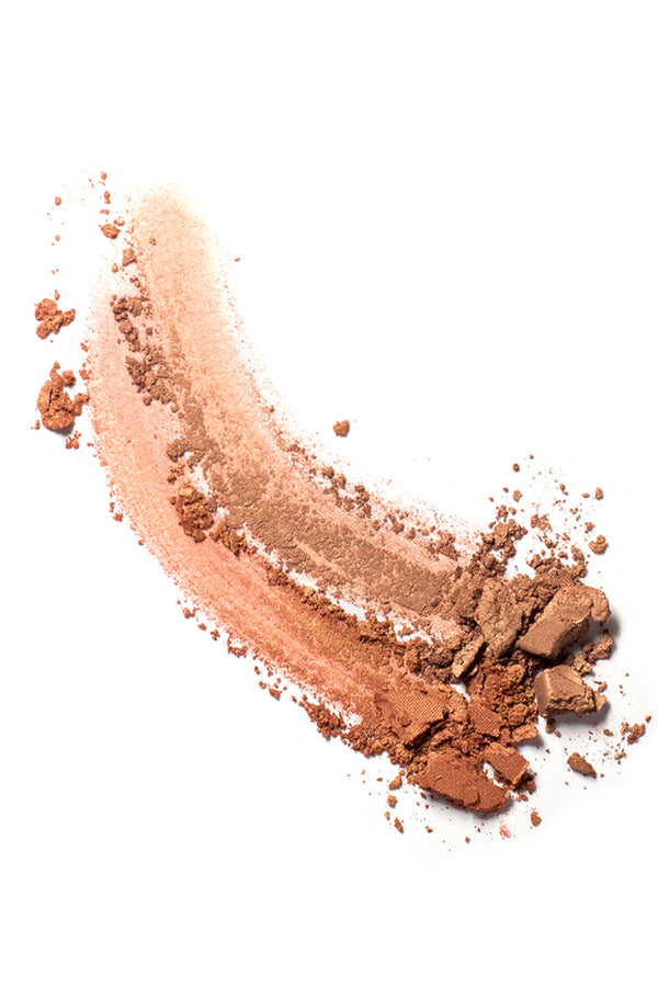 Ere Perez Rice Powder Bronzer in Tulum Swatch.