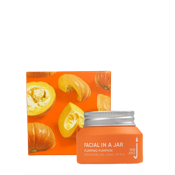 Facial In A Jar - Plumping Pumpkin
