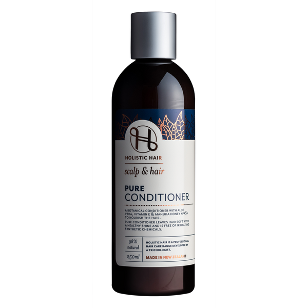 Holistic Hair Pure Conditioner 250ml bottle.