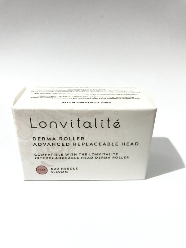 Lonvitalité Derma Roller Replaceable Head box.