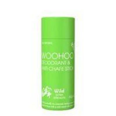 Woohoo Body Deodorant and Anti-chafe Stick in Wild 60g.