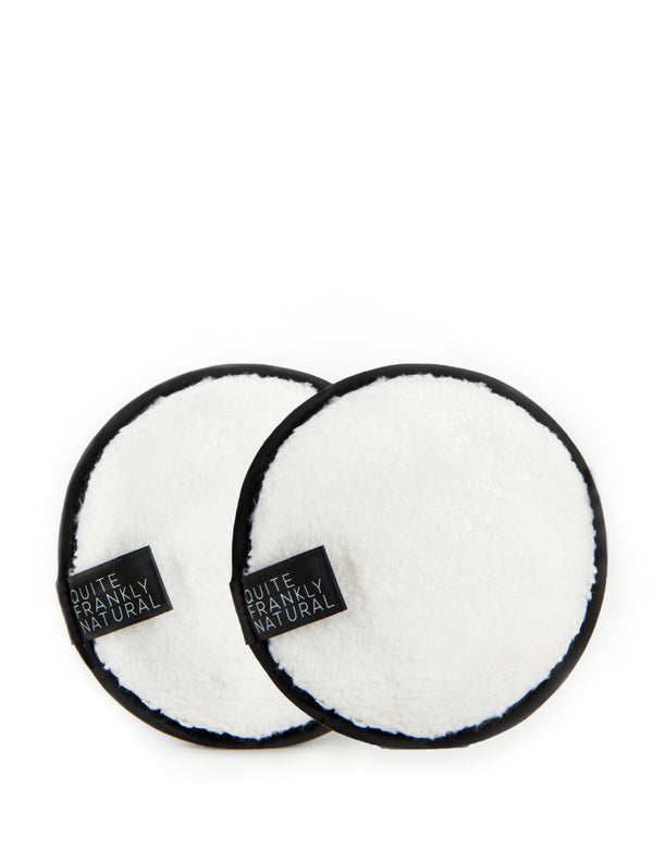 Quite Frankly Natural Bamboo Facial Cleansing Pad Set.