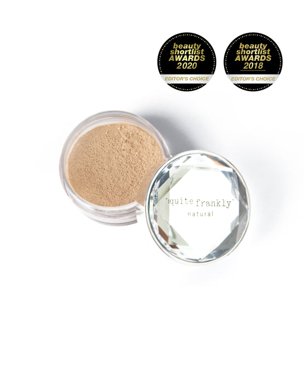Quite Frankly Natural Pure Mineral Makeup pot in colour Naked.
