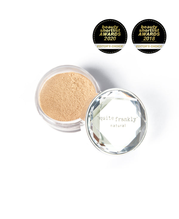 Quite Frankly Natural Pure Mineral Makeup pot in colour Pearl.