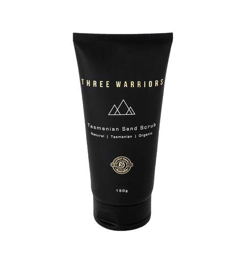 Three Warriors Tasmanian Sand Scrub 150g.