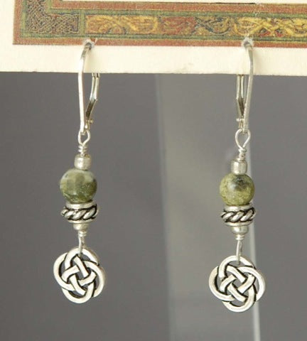 Celtic Dangle Earrings