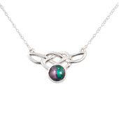 Heathergem Celtic Silver Necklace
