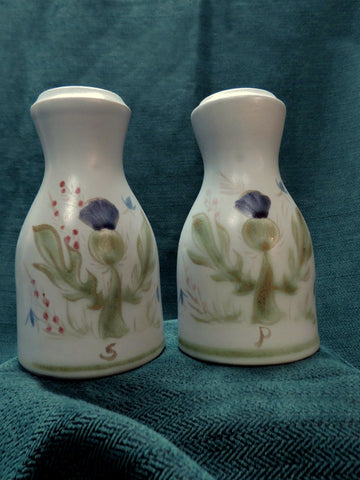 Buchan Pottery Salt and Pepper Set