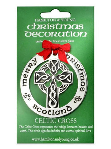 Christmas Ornament - Celtic Cross