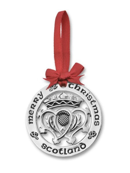 Christmas Ornament - Scottish Luckenbooth