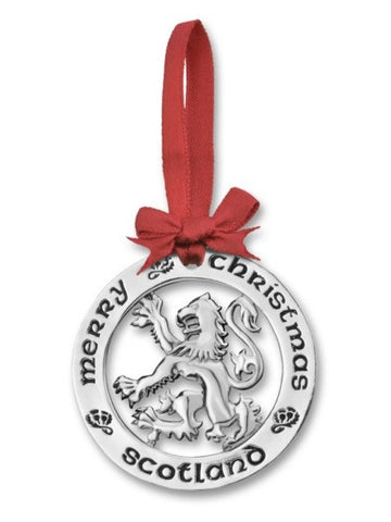 Christmas Ornament - Scottish Lion