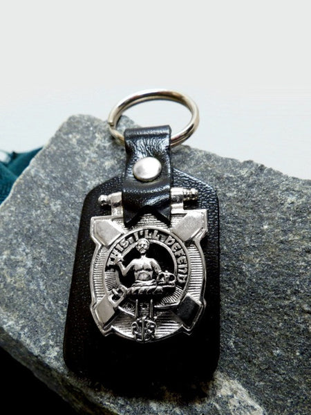 Clan Crested Key Fob