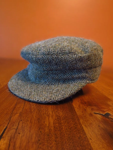Donegal Tweed Skipper Hat
