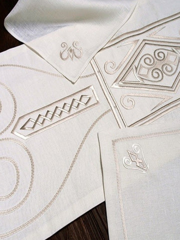Irish Linen Placemats & Napkins