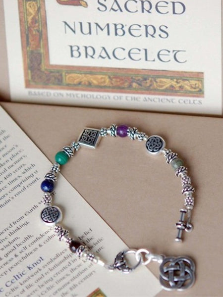 Sacred Numbers Celtic Bracelet