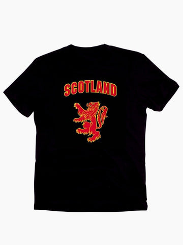 Scotland T-Shirt with Lion Rampant