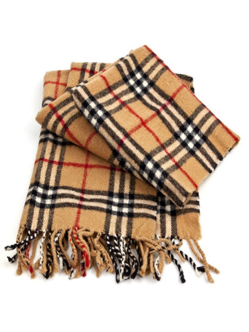 Tartan Brushed Wool Scarf