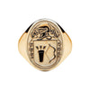 Men's Irish Coat of Arms Ring