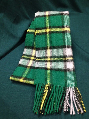 Provincial and District Tartan Lambswool Scarves