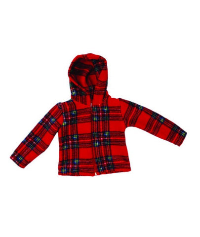 Child's Tartan Fleece Jacket