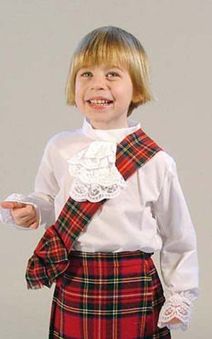 Child's Jabot Blouse