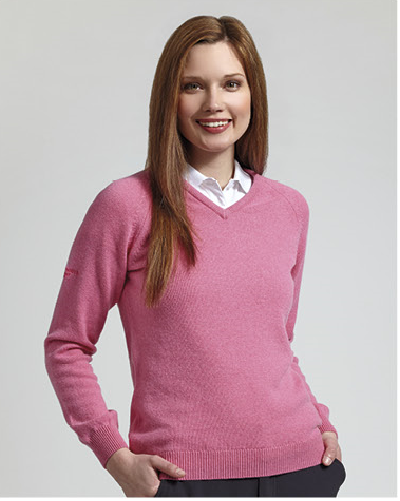 Clan Crested Ladies Lambswool Plus Sweater by Glenmuir