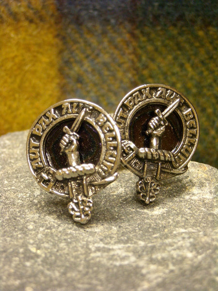 Clan Crested Cuff Links